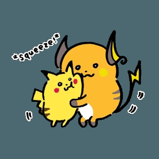 W bear Pokemon - Sticker 6