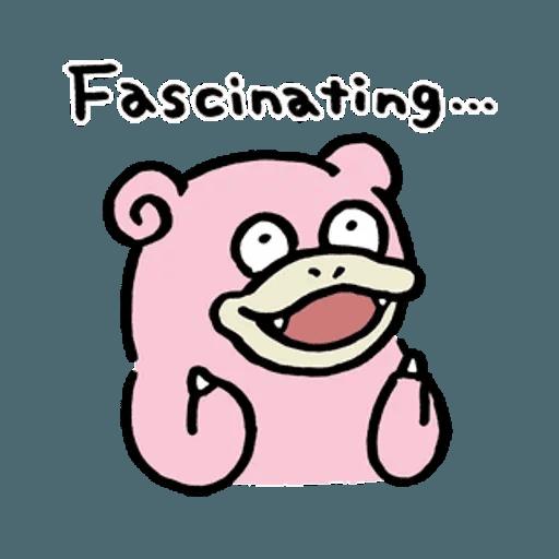 W bear Pokemon - Sticker 11