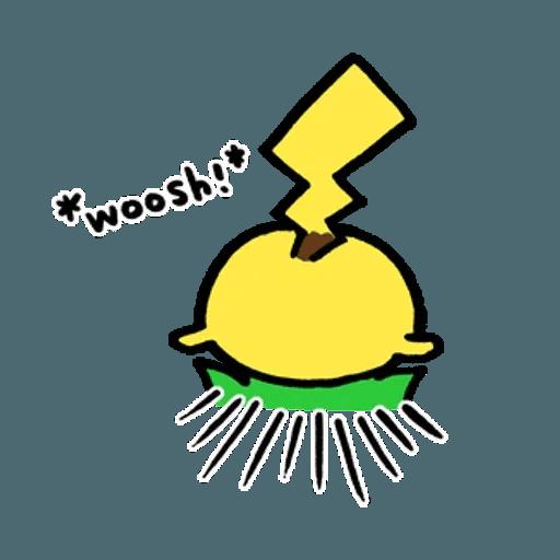 W bear Pokemon - Sticker 16