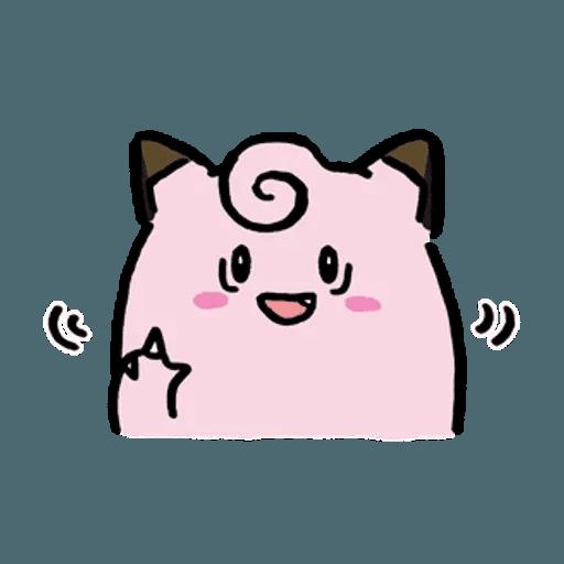 W bear Pokemon - Sticker 5