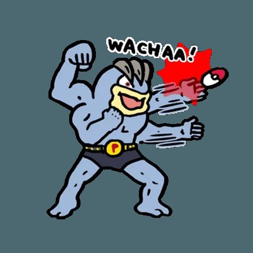 W bear Pokemon - Sticker 21