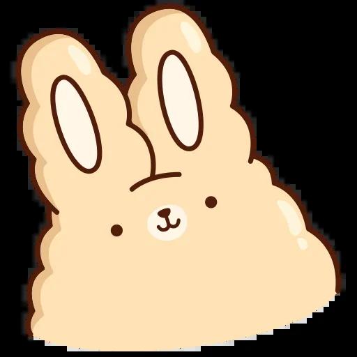 Suppy Rabbit - Tray Sticker