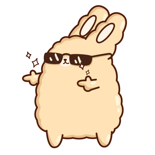 Suppy Rabbit - Sticker 30