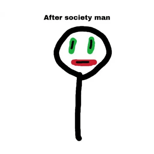 We Live In A Society - Sticker 21