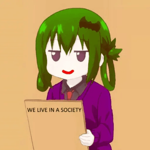 We Live In A Society - Sticker 23
