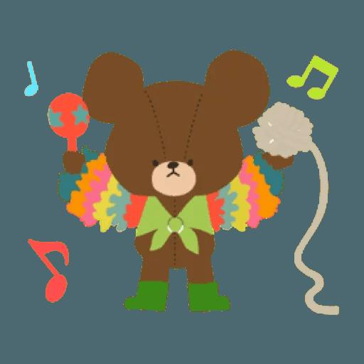 the bears school 2 - Sticker 12