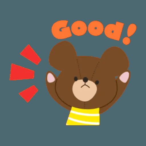 the bears school 2 - Sticker 10