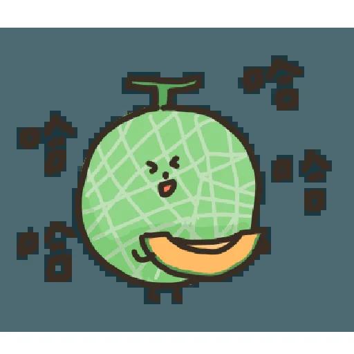 蔬菜水果厭世語錄 - Sticker 2