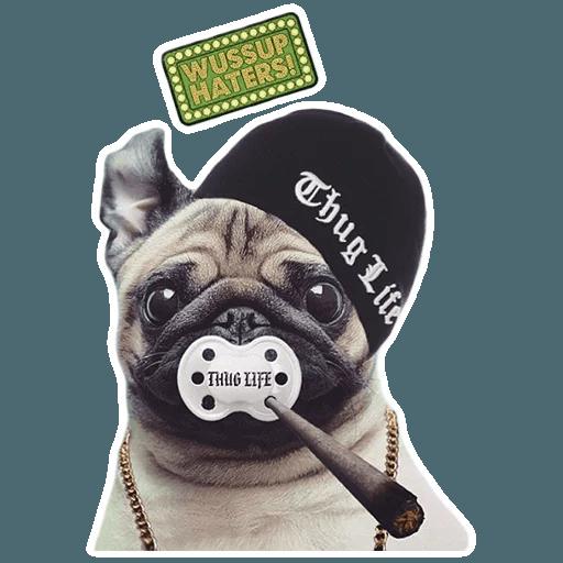 MeetPugs - Sticker 8
