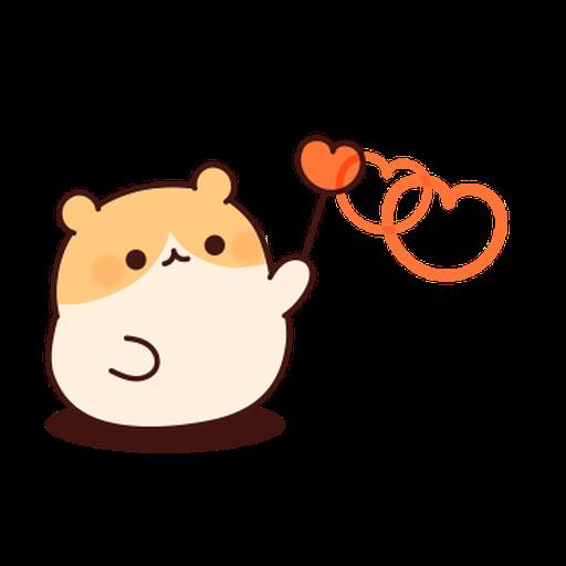 體貼的倉鼠 - Sticker 7