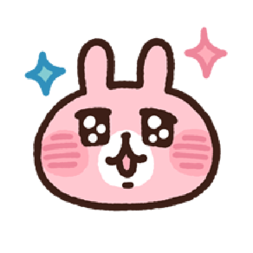 P助兔兔表情貼 1 - Sticker 4