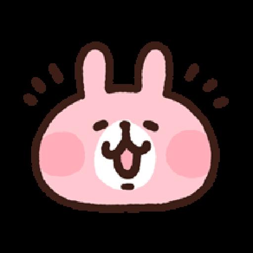 P助兔兔表情貼 1 - Sticker 1