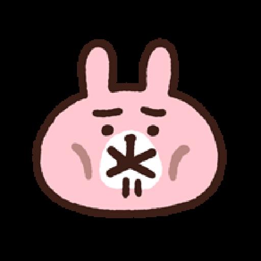 P助兔兔表情貼 1 - Sticker 23