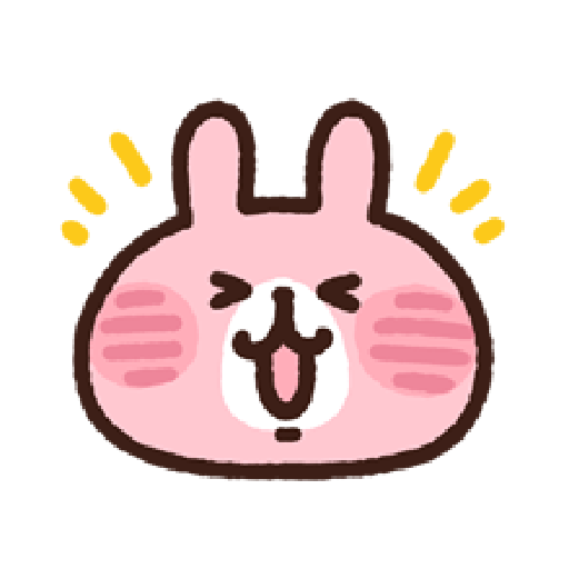 P助兔兔表情貼 1 - Sticker 2