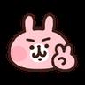 P助兔兔表情貼 1 - Tray Sticker