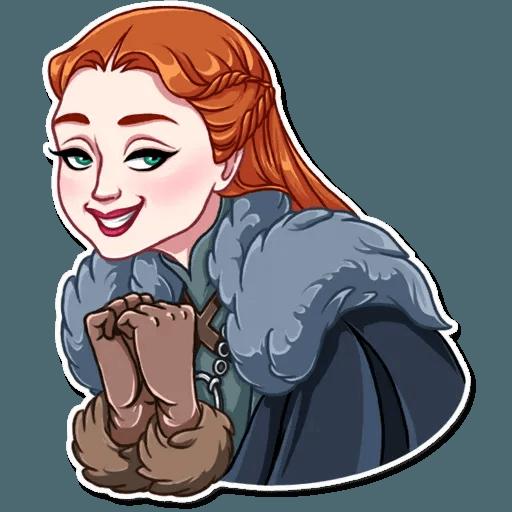 Sansa Stark - Sticker 14