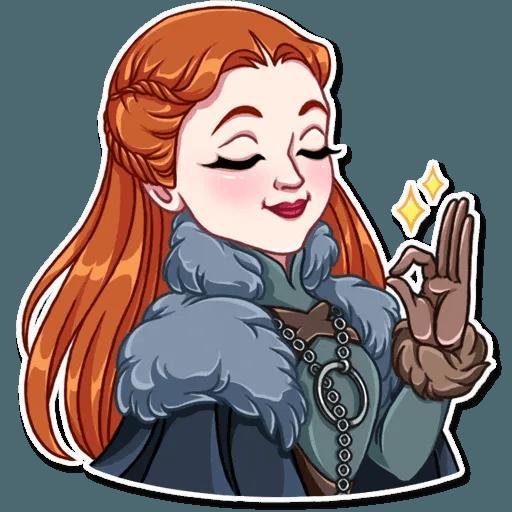 Sansa Stark - Sticker 24