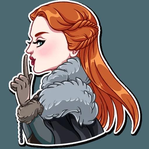Sansa Stark - Sticker 12