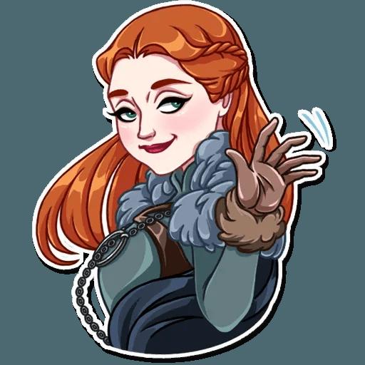 Sansa Stark - Sticker 5