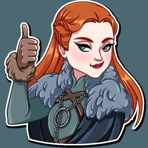 Sansa Stark - Sticker 3