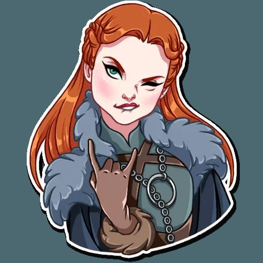 Sansa Stark - Sticker 15