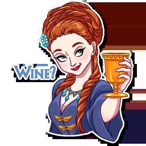 Sansa Stark - Sticker 9