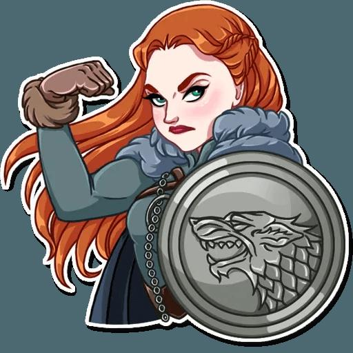 Sansa Stark - Sticker 20