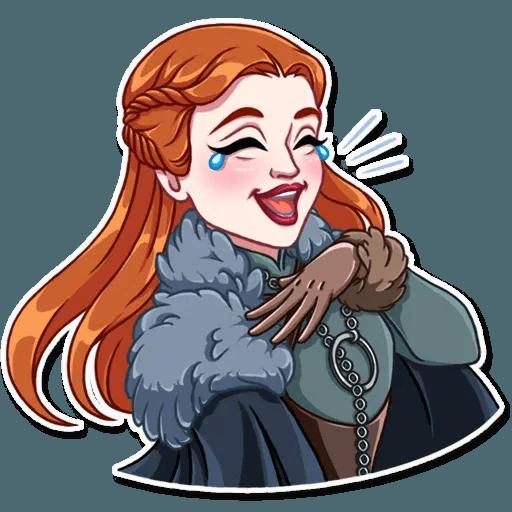 Sansa Stark - Sticker 1