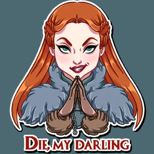 Sansa Stark - Sticker 16