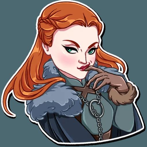 Sansa Stark - Sticker 7