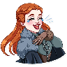 Sansa Stark - Tray Sticker