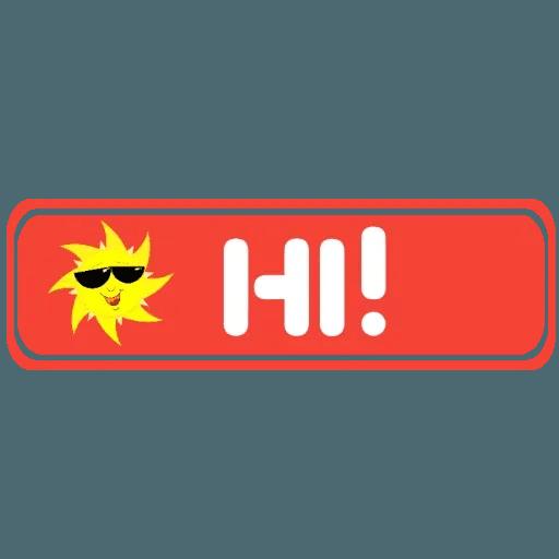 DownloadStics Say It - Sticker 15