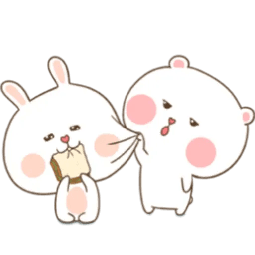 Puffy Rabbit 3 - Sticker 23