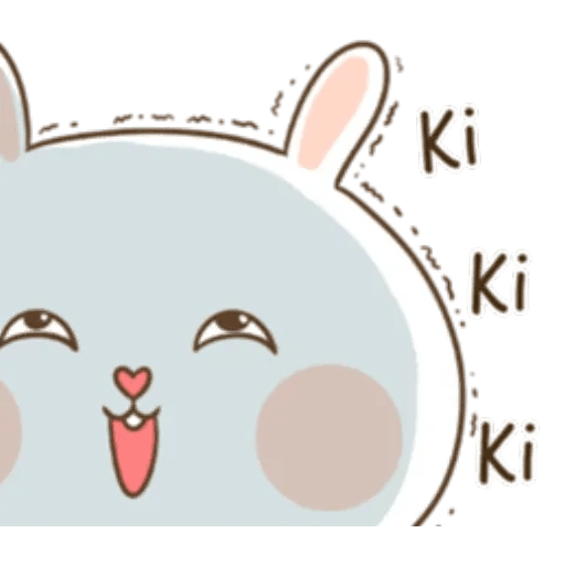 Puffy Rabbit 3 - Sticker 21