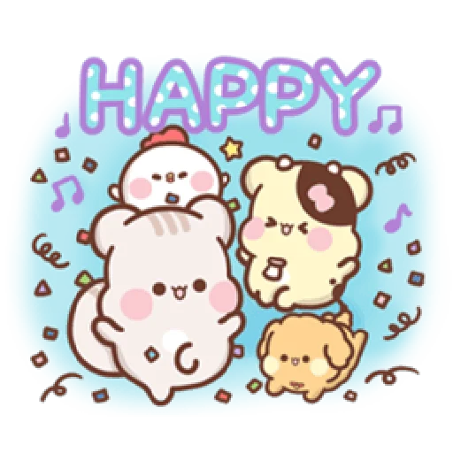 Sweet house greetings - Sticker 7