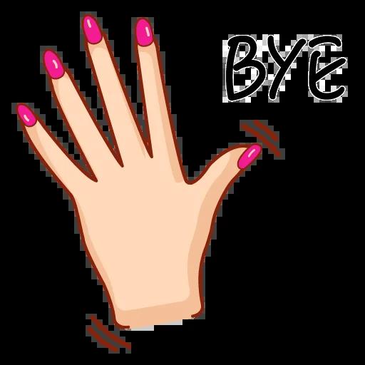 Hands&breakingbad - Sticker 14