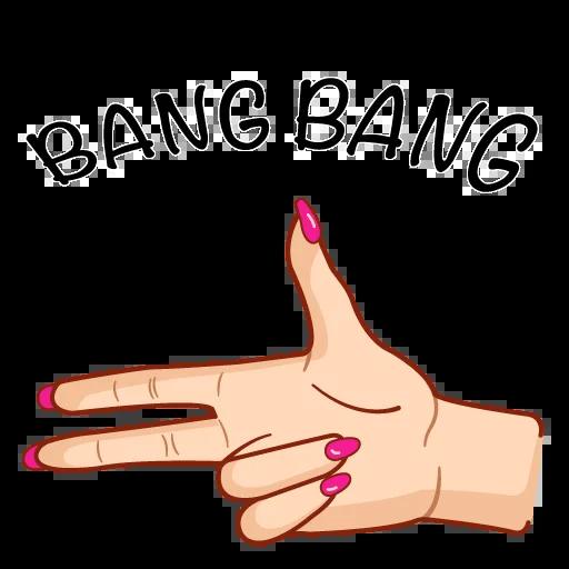 Hands&breakingbad - Sticker 12