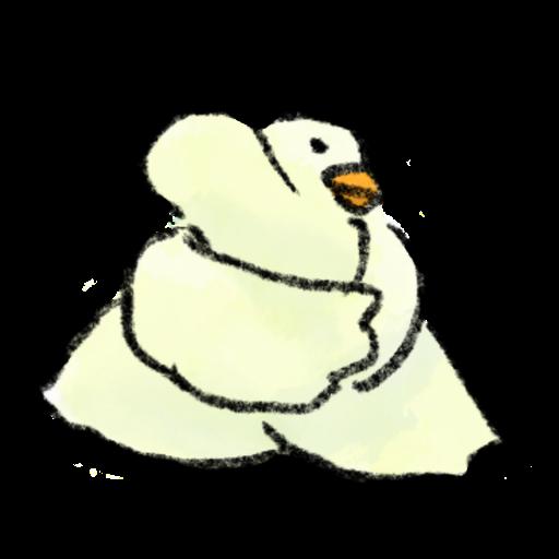 鴨鴨 - Sticker 2