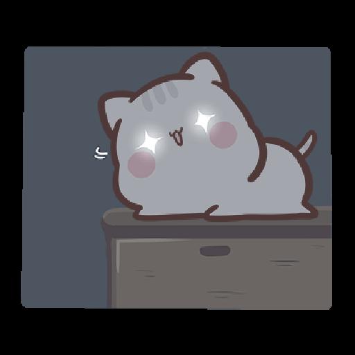 clingy kitty 2 - Sticker 2