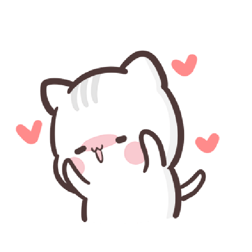 clingy kitty 2 - Sticker 1