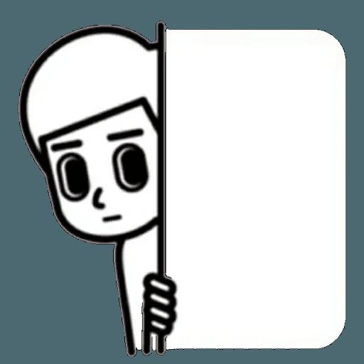 消極2 - Sticker 2