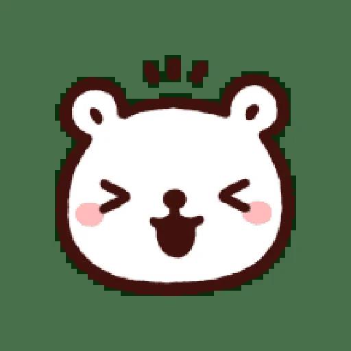 白白 - Sticker 1