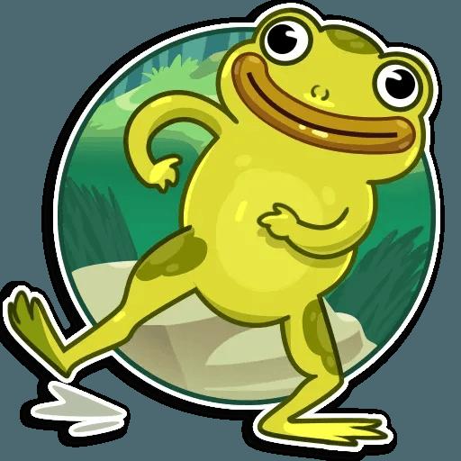 Frog - Sticker 14