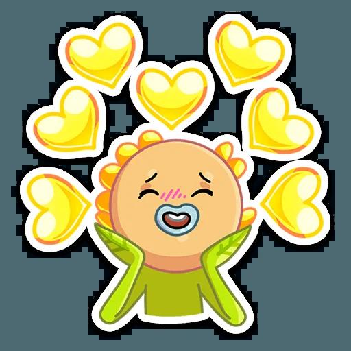 SunFlower Power - Sticker 27