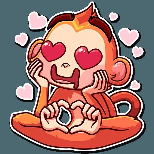Go Ape - Sticker 9