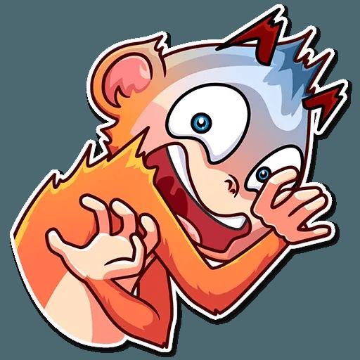 Go Ape - Sticker 4