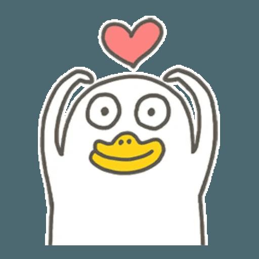 小劉鴨 - Sticker 19