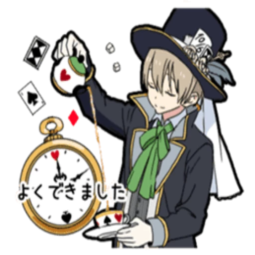 Boy In Wonderland - Sticker 18