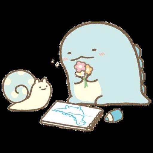 角落生物 - 恐龍 - Sticker 14
