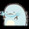 角落生物 - 恐龍 - Tray Sticker